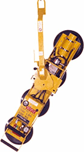 "C.R. LAURENCE P11104DC CRL Wood""s Powr-Grip Single Channel DC Vacuum Lifting Frame - For Flat Material"