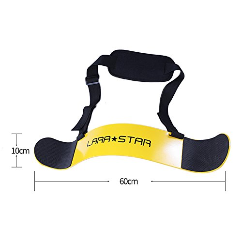 LARA STAR Weightlifting Arm Blaster Adjustable Aluminum Bodybuilding Bomber Bicep Curl Triceps Muscle Training Fitness Gym Equipment /…