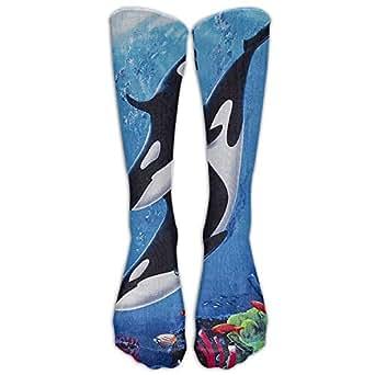 Amazon.com: Long Whale Family Velour Brazilian Socks Women