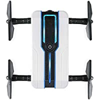 EgalBest JJRC H61 White Foldable Arms 720P HD Camera Wifi Drone Altitude Hold Optical Flow Positioning Quadcopter Helicopter Toy