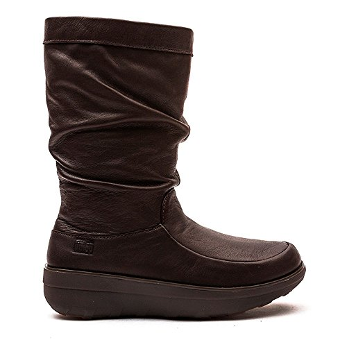 Fitflop Superloafer (Leather), Zuecos para mujer Chocolate