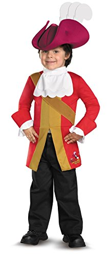 Disney Jake And The Neverland Pirates Captain Hook Toddler/Child Costume, Small (2T)