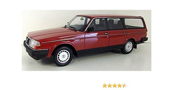 Amazon Com Volvo 240 Gl Station Wagon Red 1989 Model Car