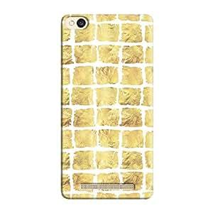 Cover It Up - Yellow Rock White Break Redmi 3s Hard Case