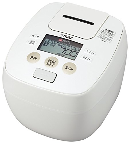 Cheap TIGER IH pressure rice cooker cooked (5.5 Go cook) JPB-W100-W White