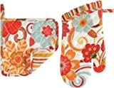 Pot Holder & Mitt Set, Giselle, Colorful