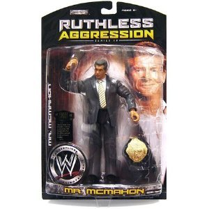 WWE Mr. Mcmahon Ruthless Aggression Series 28 Jakks (Wwe Action Figure Mr Mcmahon)