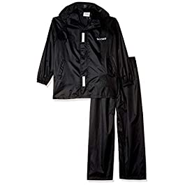 Amazon Brand – Solimo Water Resistant Polyester Rain Coat with Pant