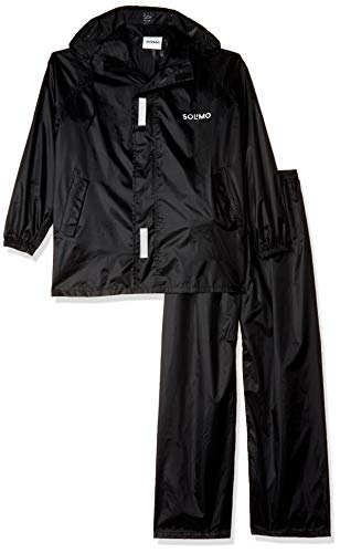 Solimo Water Resistant Polyester Rain Coat with Pant