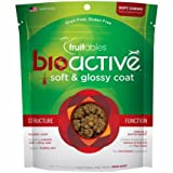 Cheap Fruitables Bioactive Soft & Glossy Coat Functional Chewy Treats, 6 Oz