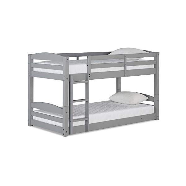Max & Finn Twin Bunk Bed, Gray 1