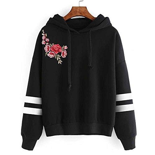 Longues Sweat Femmes Chemise Rayures Tops Sweatshirt Chemisier Manches Chic Pullover Imprim Tunique K Kangrunmy Shirt Blouse Sweat Hoodie Capuche w6rtq6