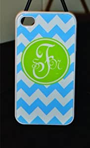 Chevron Personalized Monogrammed Phone Case iPhone 4 / 4S, iPhone 5 / 5SIphone 5/5S,Iphone 5/5S Fashion Designer Cute Cover Zig Zag