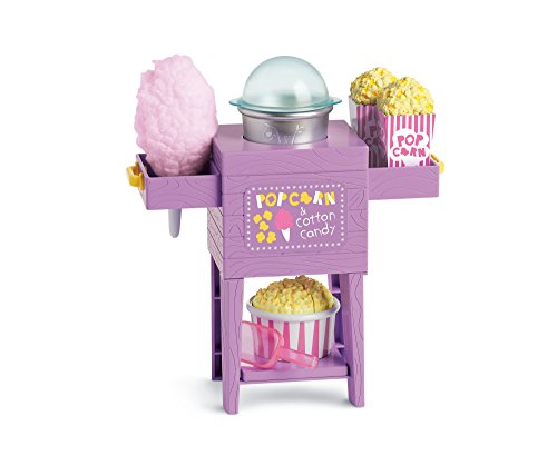 American Girl WellieWishers Popcorn & Cotton Candy Cart