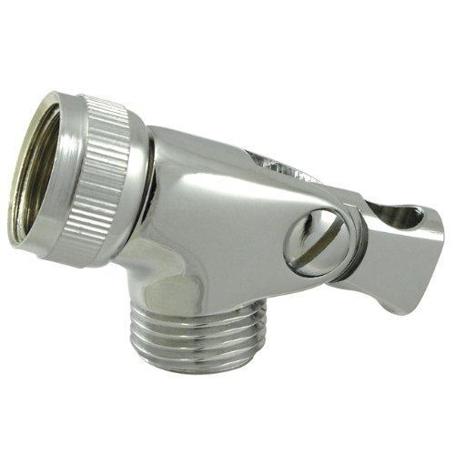 Swivel Shower Bracket - Kingston Brass K172A1 Designer Trimscape Showerscape Swivel Shower Connector, Polished Chrome