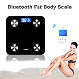 Scales Digital Weight,Bluetooth Scales Digital Weight and Body Fat Composition Analyzer Health Monitor with iOS and Android App,SmartScalesDigitalWeightandBodyFat for People