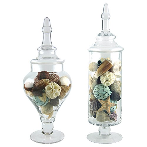 Apothecary Jar Set, Wedding Candy Buffet Containers (Apothecary Candy Jars)