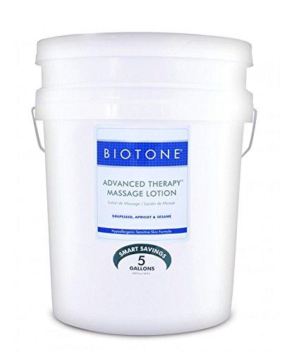 Biotone Advanced Therapy Massage Lotion - 5 Gallon Pail