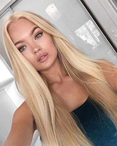 Golden Blonde Wig Hair - ALICE Lace Front Blonde Wig, 24