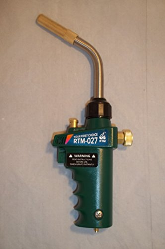 Mapp Gas Self Ignition Trigger Turbo Torch Brazing Propane Plumbing Hvac