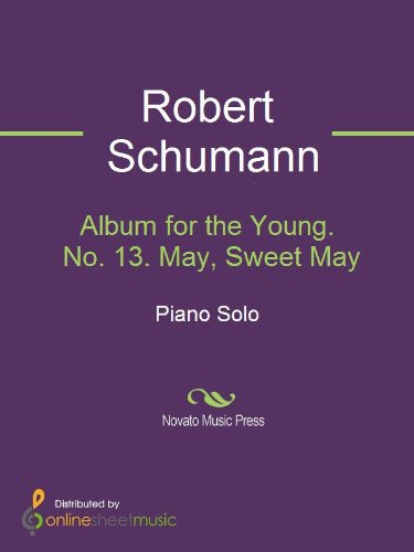 Album for the Young. No. 13. May, Sweet May