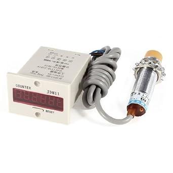 LJ18 A3 - 8 de Z/by 8 mm Detector inductive Proximity Sensor Switch w Plato: Amazon.es: Industria, empresas y ciencia