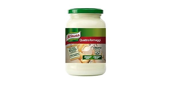 Knorr - Salsa Pasta Cuatro Quesos, 400 g - [Pack de 6]: Amazon.es: Alimentación y bebidas