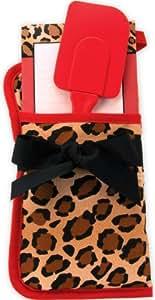 Brownlow Gifts Potholder Gift Set, Red/Brown/Black