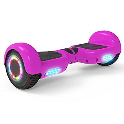 """Hoverheart Hoverboard 6.5"""" UL 2272 Listed Two-Wheel Self Balancing Electric Scooter with Bluetooth Speaker (Purple)"""