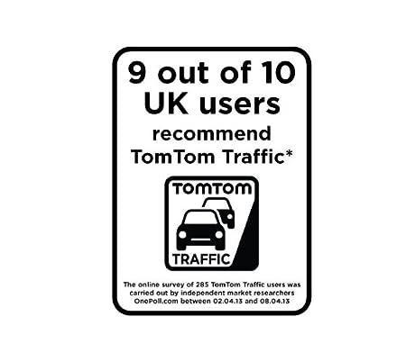 5 Sat Nav with Full UK /& Ireland Lifetime Maps TomTom GO 500 UK /& Ireland Lifetime Traffic Updates Smartphone Connected and Interactive Screen