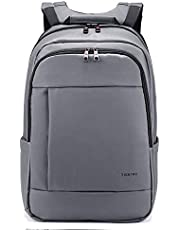 TIGERNU Slim Laptop Backpack with USB Charging Backpack and Reflective Strip Fits up to 15/15.6 Inch Laptop/Notebook