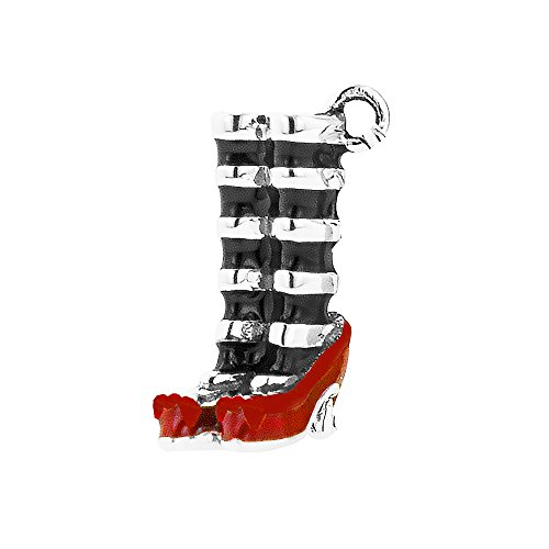 rd of Oz Red Slippers Clip on Charm ()