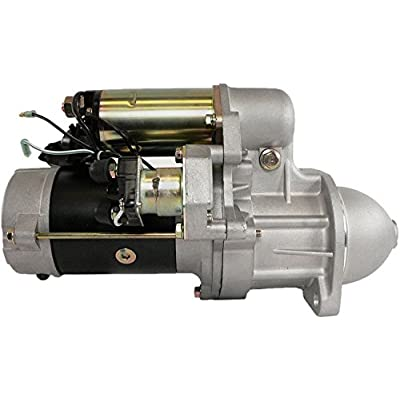 DB Electrical SNK0056 Starter For John Deere Excavator 135C RTS All Years/New Holland Excavators E130 06-On, E200SR All Years /8941717720, 8944545590, 8970298630, 8970298631, 8970298632, 8970298635: Automotive