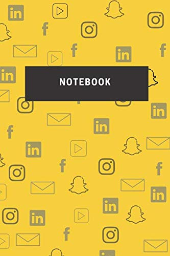Customised Stationery - Notebook: Design Notebooks College Culed. Customised Notebook Cover. Gift idea. Social Media Graphics Cover.110 blank numbered pages (Minimalistic Design)