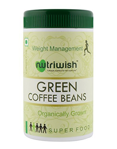 Nutriwish Green Coffee Beans 250 gms (Organically Grown In Araku Valley) , Natural Weight Loss Supplement