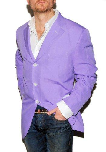 Ralph Lauren Mens 100% Silk Sport Coat Blazer Jacket Ital...