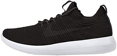 Nike Women's W Roshe Two Flyknit V2, BlackAnthracite Black