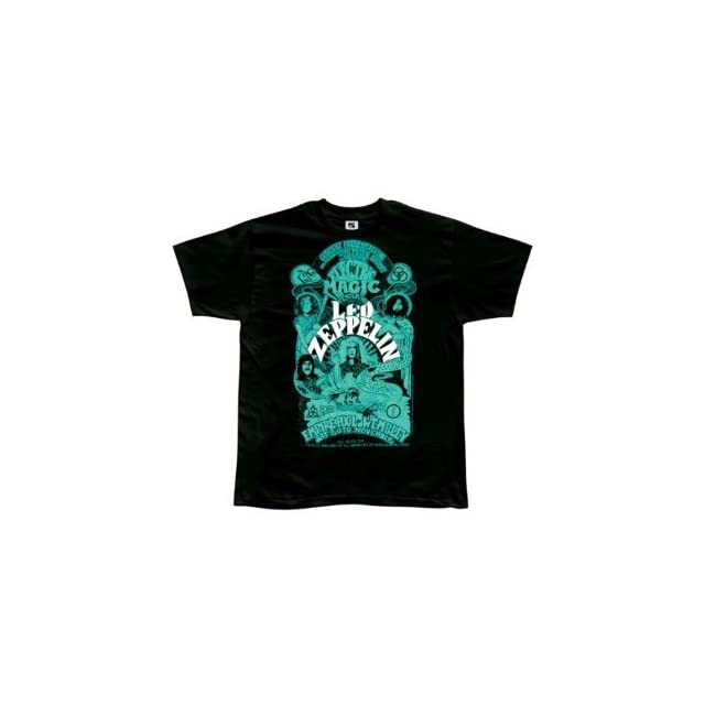 Led Zeppelin   Electric Magic T Shirt   X Large