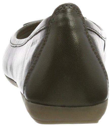 Marc Shoes Janine - Cerrado de cuero mujer gris - Grau (taupe 260)