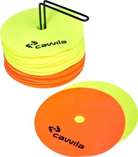 Cawila Markierungsscheiben Floormarker 24er Set, Durchmesser: 15cm, 00500108