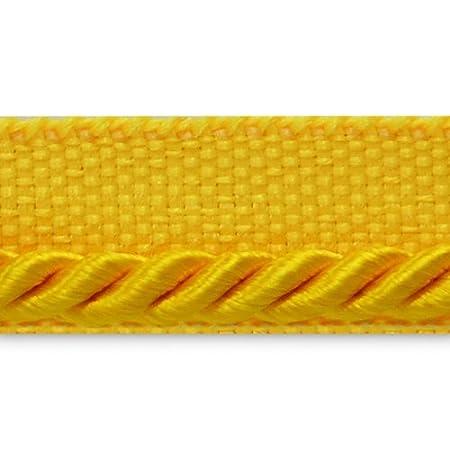 Expo International 20-Yard Ebony Twisted Lip Cord Trim Embellishment 1//8-Inch Brown