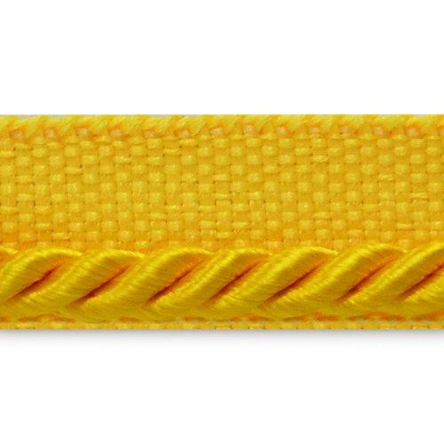 (Expo International Ebony 1/8-Inch Twisted Lip Cord Trim, 20-Yard, Yellow Gold)