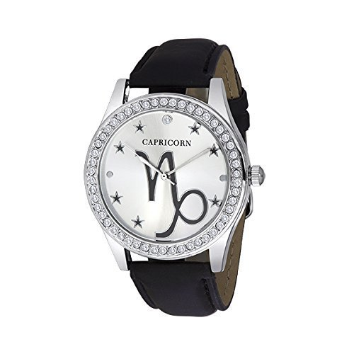 Unisex Crystal Zodiac Horóscopo – Reloj capricon