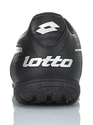 Lotto STADIO POTENZA IV 700 TURF (Black-Metal) scarpe Uomo calcetto