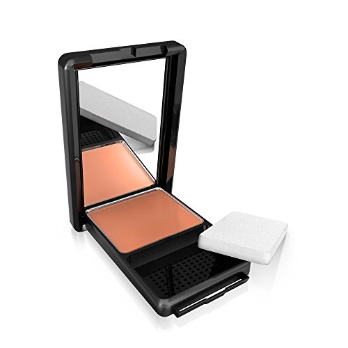 COVERGIRL Queen Natural Hue Compact Foundation Amber Glow, .4 (Amber Pressed Powder)