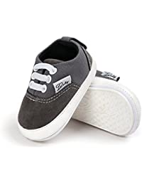 Baby Shoes Sneakers Infant for Girls Boys Walking Tennis Canvas Pink Toddler