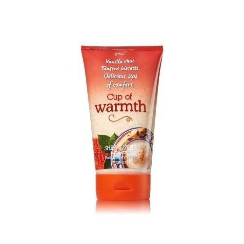 CUP OF WARMTH Signature Collection Shea Butter Body Scrub 7.7 oz / 220 g
