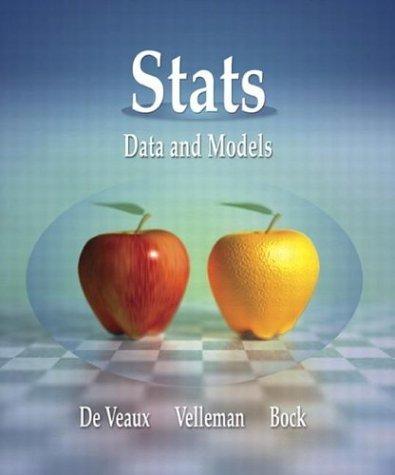 Stats: Data and Models by Richard D. De Veaux (2004-03-02) pdf