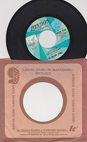 Rolling Stones: (I Can't Get No) Satisfaction b/w The Under Assistant West Coast Promotion Man