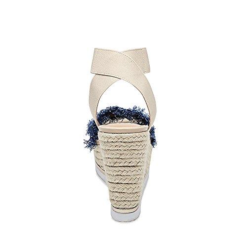 amazing price sale online Steve Madden Women's Venus 420 Denim Fabric discount very cheap ZaGRu